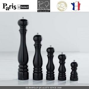 Мельница Paris U Select Laque Noir для соли, H 12 см, черный, PEUGEOT, Франция, арт. 8701, фото 7