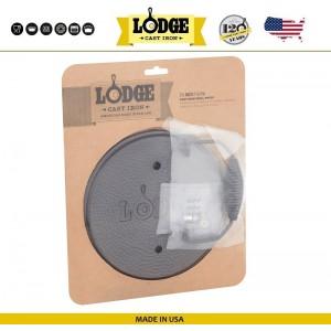 Пресс для гриля круглый, D 19.5 см, чугун, Lodge, США, арт. 5219, фото 3