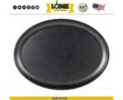 Сковорода-противень овальная, L 35 см, W 26 см, чугун, Lodge, США