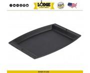 Сковорода прямоугольная без подставки, L 29.5 см, W 20 см, чугун, Lodge, США