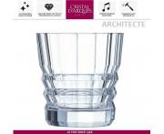 Низкий бокал ARCHITECTE для виски, 320 мл, Cristal D'arques, Франция