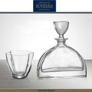 Графин-штоф NEMO для виски, коньяка, 700 мл, хрусталь, Bohemia, Чехия, арт. 7336, фото 3