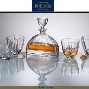 Графин-штоф NEMO для виски, коньяка, 700 мл, хрусталь, Bohemia, Чехия, арт. 7336, фото 2