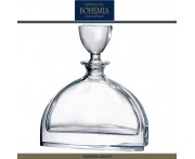 Графин-штоф NEMO для виски, коньяка, 700 мл, хрусталь, Bohemia, Чехия