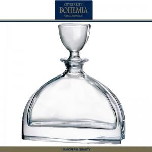 Графин-штоф NEMO для виски, коньяка, 700 мл, хрусталь, Bohemia, Чехия, арт. 7336, фото 1