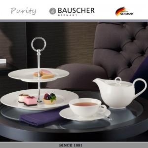 Кофейная чашка PURITY для эспрессо, 90 мл, фарфор, Bauscher, Германия, арт. 32215, фото 4