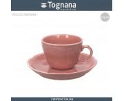 Блюдце для чашки 80 мл (без чашки) Vecchio Vienna Charme розовый, Tognana, Италия