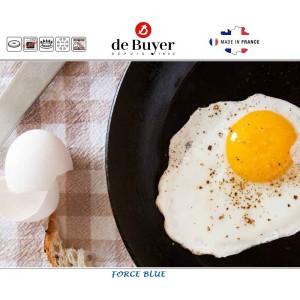 Сковорода Force Blue, D 22 см, голубая сталь, de Buyer, Франция, арт. 4770, фото 3