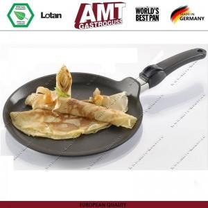 Антипригарная блинная сковорода Diamond Induction, D 28 см, индукционное дно, съемная ручка, AMT, Германия, арт. 110, фото 2