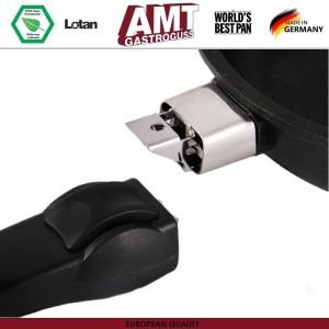 Антипригарная сковорода, D 20 см, H 4 см, съемная ручка, AMT, Германия, арт. 90, фото 6