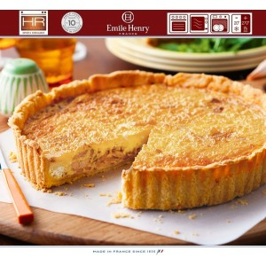 La Pâtisserie TOURTIERE Форма для пирога киш, D 28 см, цвет PROVENCE, Emile Henry, арт. 93290, фото 7