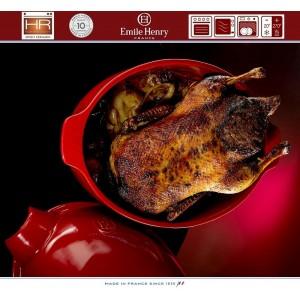 Les Spécialistes Большая жаровня для запекания бараньей ноги, индейки, 41х27 см, керамика, Emile Henry, арт. 90742, фото 8