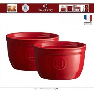 Les Plats Promo Подарочный набор: форма для запекания + 2 рамекина, цвет гранат, Emile Henry, арт. 92454, фото 5