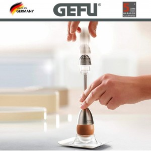 OVO EGG очиститель скорлупы с солонкой, GEFU, Германия, арт. 90196, фото 2