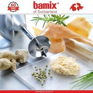 BAMIX M180 Deluxe Silver блендер, серебристый, Швейцария, арт. 10576, фото 4