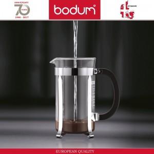 Френч-пресс CHAMBORD Classic для кофе и чая, 1000 мл, цвет белый, BODUM, арт. 87660, фото 4