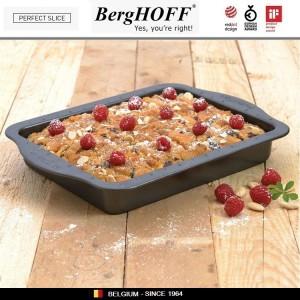 Антипригарный противень Perfect Slice для выпечки с крышкой-переноской и ножом, 36 х 27 см, BergHOFF, арт. 73049, фото 2