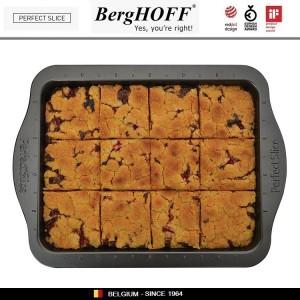 Антипригарный противень Perfect Slice для выпечки с крышкой-переноской и ножом, 36 х 27 см, BergHOFF, арт. 73049, фото 4