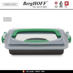 Антипригарный противень Perfect Slice для выпечки с крышкой-переноской и ножом, 36 х 27 см, BergHOFF, арт. 73049, фото 6