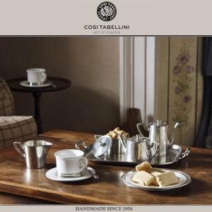 Кофейная пара TODI для эспрессо, 80 мл, олово, фарфор, Cosi Tabellini, Италия, арт. 24464, фото 4