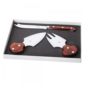 Набор ножей для сыра, 3 предмета, DEL BEN, Италия, арт. 857, фото 3