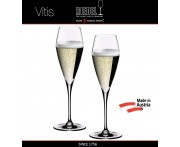 Бокалы для шампанского Champagne Glass, 2 шт, 320 мл, ручная выдувка, VITIS, RIEDEL