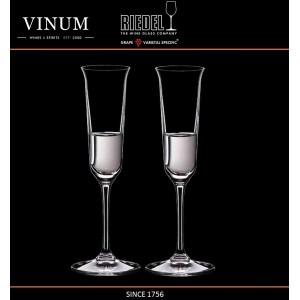 Рюмки VINUM для граппы Grappa, 2 шт, объем 85 мл, хрустальное стекло, Riedel, Австрия, арт. 16452, фото 2