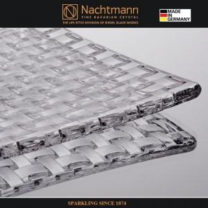 Блюдо BOSSA NOVA для закусок, 28x28 см, бессвинцовый хрусталь, Nachtmann, Германия, арт. 16088, фото 4