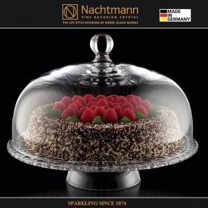 Блюдо с крышкой для десертов, D 32 см, бессвинцовый хрусталь, серия BOSSA NOVA, Nachtmann, Германия, арт. 77197, фото 3