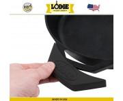 Накладка на ручку силиконовая, L 14 см, черный, Lodge, США
