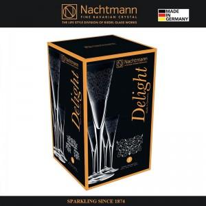 Набор бокалов DELIGHT для шампанского, 4 шт., 165 мл, бессвинцовый хрусталь, Nachtmann, Германия, арт. 16142, фото 6