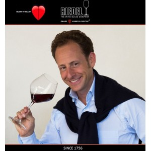 Heart to Heart Набор бокалов для красных вин Pinot Noir, 4 шт, объем 770 мл, хрустальное стекло, Riedel, Австрия, арт. 87579, фото 4