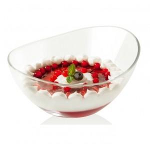 Емкость порционная для десертов, салатов, L 13 см, H 6,5 см, бессвинцовый хрусталь, серия Papaya, EgoAlter, Италия, арт. 76147, фото 2