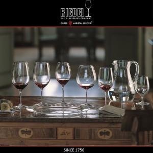 VINUM Бокалы для белых вин Sauvignon Blanc и Dessertwine, 2 шт, 350 мл, хрустальное стекло, Riedel, Австрия, арт. 16444, фото 3
