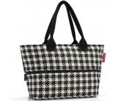 Сумка shopper e1 fifties black, L 50 см, W 16,5 см, H 27 см, Reisenthel, Германия
