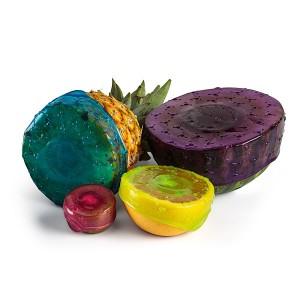 Упаковка для продуктов coverblubber большая голубая, L 10,2 см, W 10,2 см, H 6 см, Fusionbrands, Тайвань, арт. 17093, фото 3