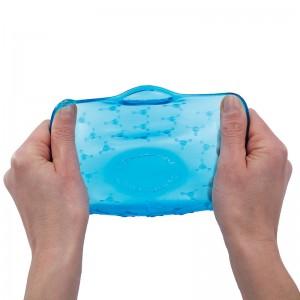 Упаковка для продуктов coverblubber большая фиолетовая, L 12 см, W 12 см, H 7 см, Fusionbrands, Тайвань, арт. 17094, фото 3
