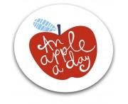Доска для готовки и защиты рабочей поверхности an apple a day, L 30 см, W 30 см, H 0,7 см, Joseph Joseph, Великобритания