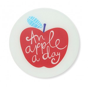 Доска для готовки и защиты рабочей поверхности an apple a day, L 30 см, W 30 см, H 0,7 см, Joseph Joseph, Великобритания, арт. 12209, фото 3