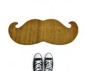 Дверной коврик moustache коричневый, L 37,5 см, W 1,5 см, H 89 см, Thabto, Великобритания