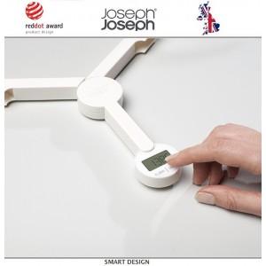 Весы Triscale кухонные электронные складные, max 5 кг, белый, Joseph Joseph, Великобритания, арт. 12249, фото 3