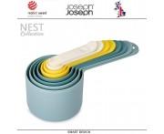 Набор мерных ёмкостей Nest, 8 шт, цвет опал, Joseph Joseph, Великобритания