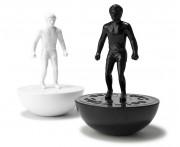 Мельнички для соли и перца subbuteo, L 9,5 см, W 9,5 см, H 14,2 см, пластик, керамика, THABTO,  Великобритания