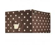 Коробка для хранения storagebox l mocha dots, L 50,5 см, W 40 см, H 28,5 см, Reisenthel, Германия