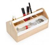 Ящик для косметики и украшений toto, H 12,7 см, L 25,4 см, W 12,7 см, дерево, Umbra, Канада