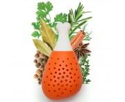 Ёмкость для специй погружная Pulke, силикон жаропрочный пищевой, OTOTO, Израиль
