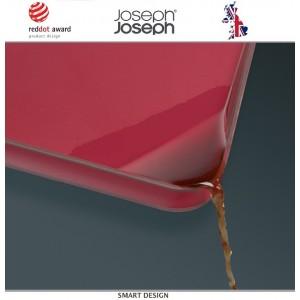 Доска двухсторонняя разделочная Cut and Carve Plus, черный, Joseph Joseph, Великобритания, арт. 12500, фото 5