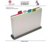 Набор разделочных досок INDEX & APOS большой, 5 предметов, серебристый, Joseph Joseph, Великобритания
