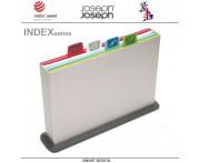 Набор разделочных досок INDEX & APOS, 5 предметов, серебристый, Joseph Joseph, Великобритания