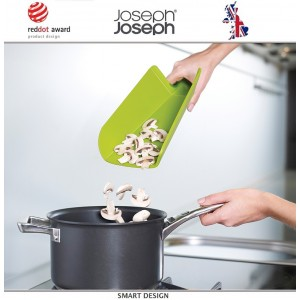 Малая доска разделочная складная Chop2pot™ Plus зеленая, Joseph Joseph, Великобритания, арт. 12536, фото 2